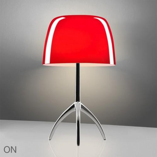Lampe de table Lumière 05 Piccola Aluminium poli