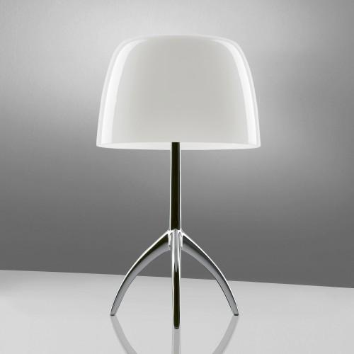 Lampe de table Lumière 05 Grande Aluminium poli