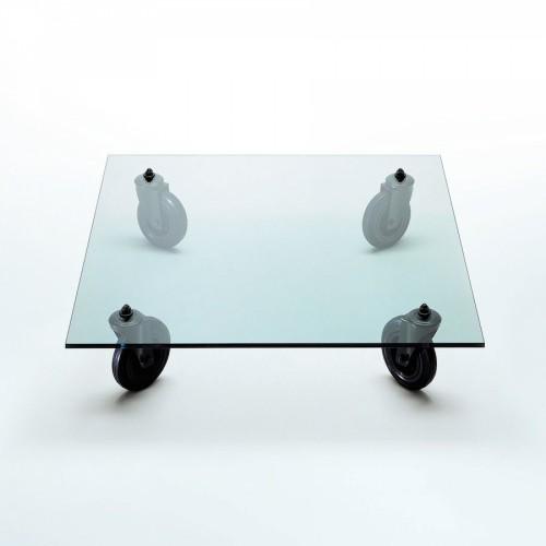 Table Tavolo Con Ruote L130