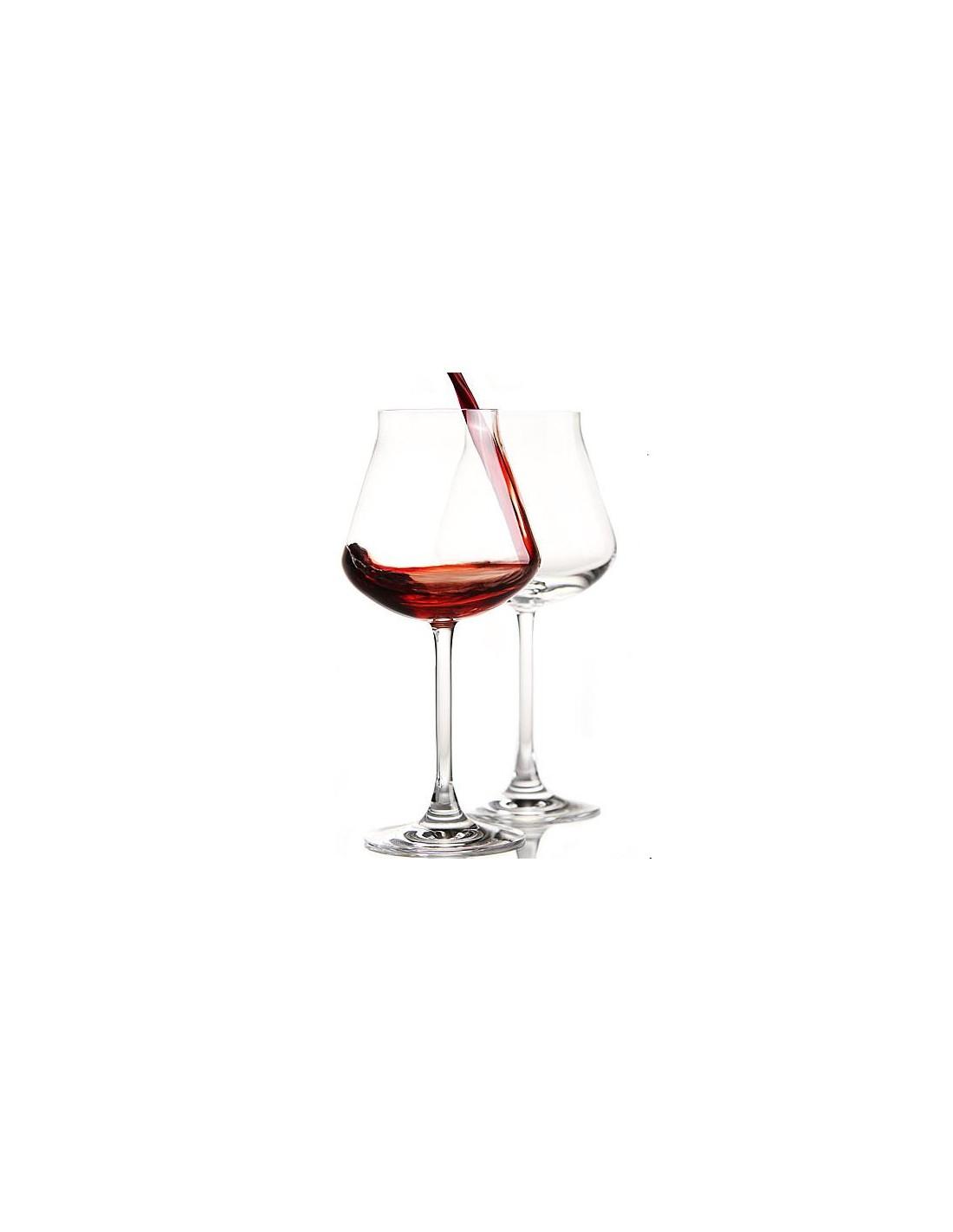 Château Baccarat Verre à Vin Rouge X 2 réalisé en cristal clair