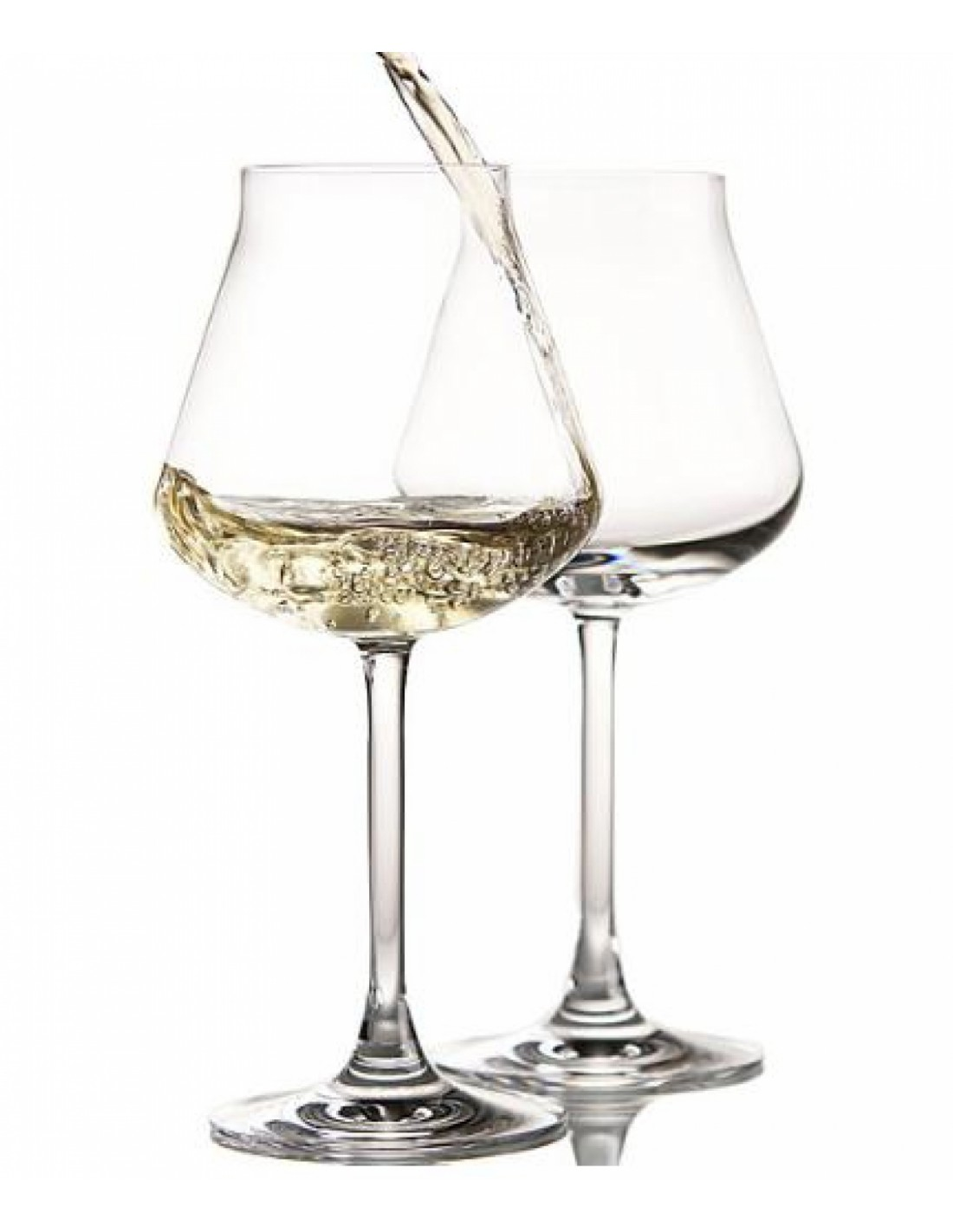 Ch teau baccarat verre vin blanc x 2 r alis en cristal for Verre 51 piscine design tabac