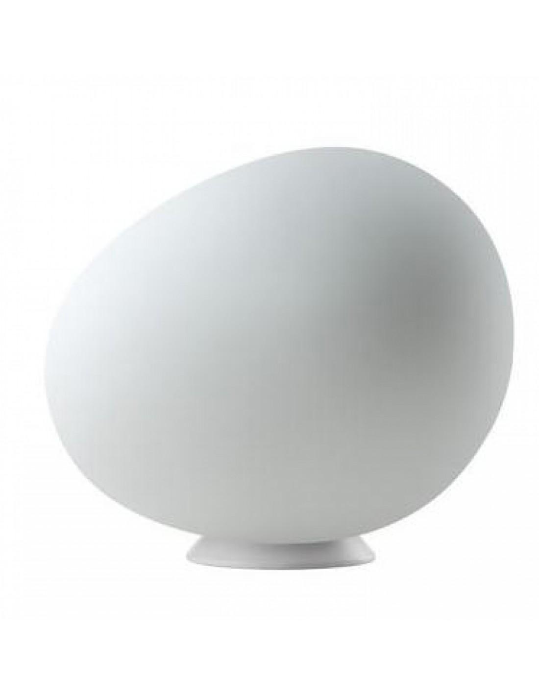 LAMPE DE TABLE POLY GREGG GRANDE foscarini blanc