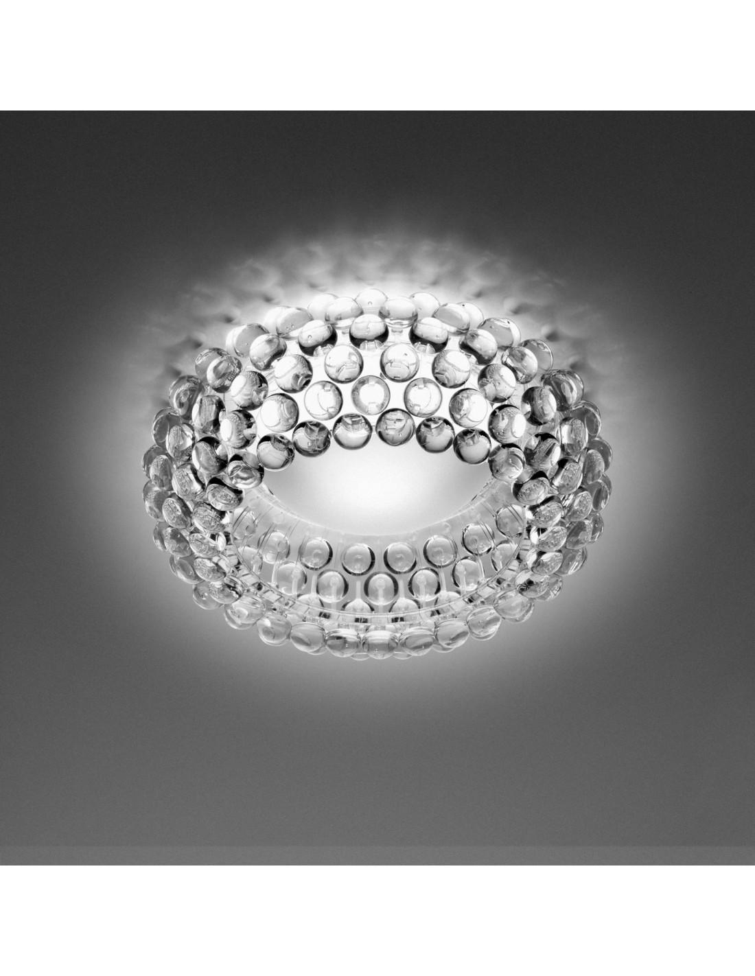Plafonnier Caboche foscarini transparent