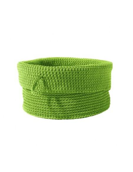 Corbeille Confetti moyen modèle vert de la marque Zone