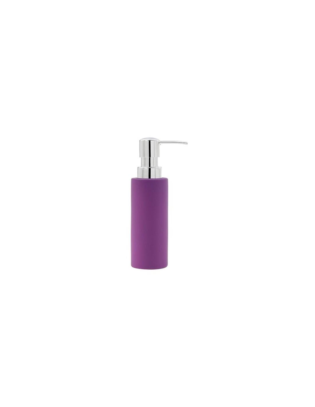 distributeur de savon liquide confetti bath violet de la marque zone. Black Bedroom Furniture Sets. Home Design Ideas