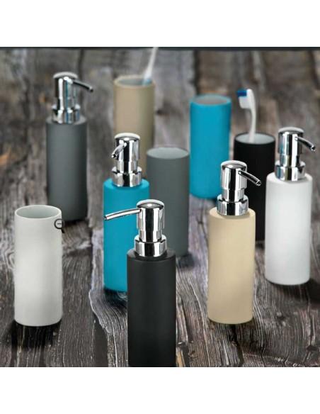 Distributeur de savon liquide Confetti Bath de la marque Zone
