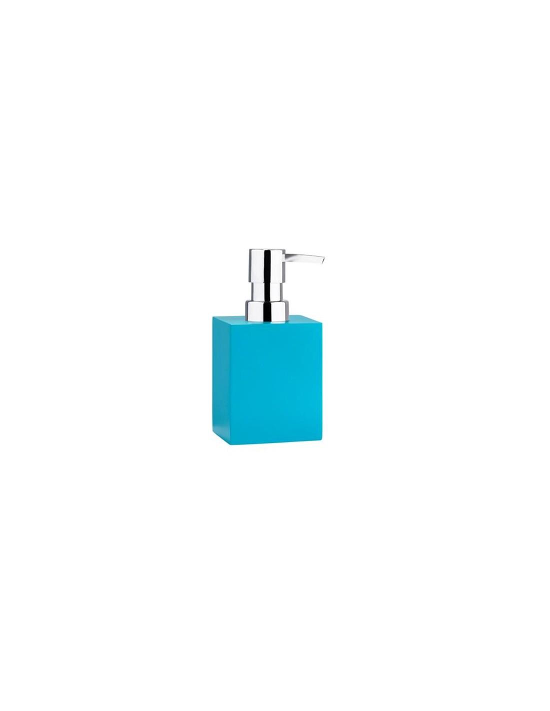 distributeur de savon liquide confetti square bath turquoise de la marque zone. Black Bedroom Furniture Sets. Home Design Ideas