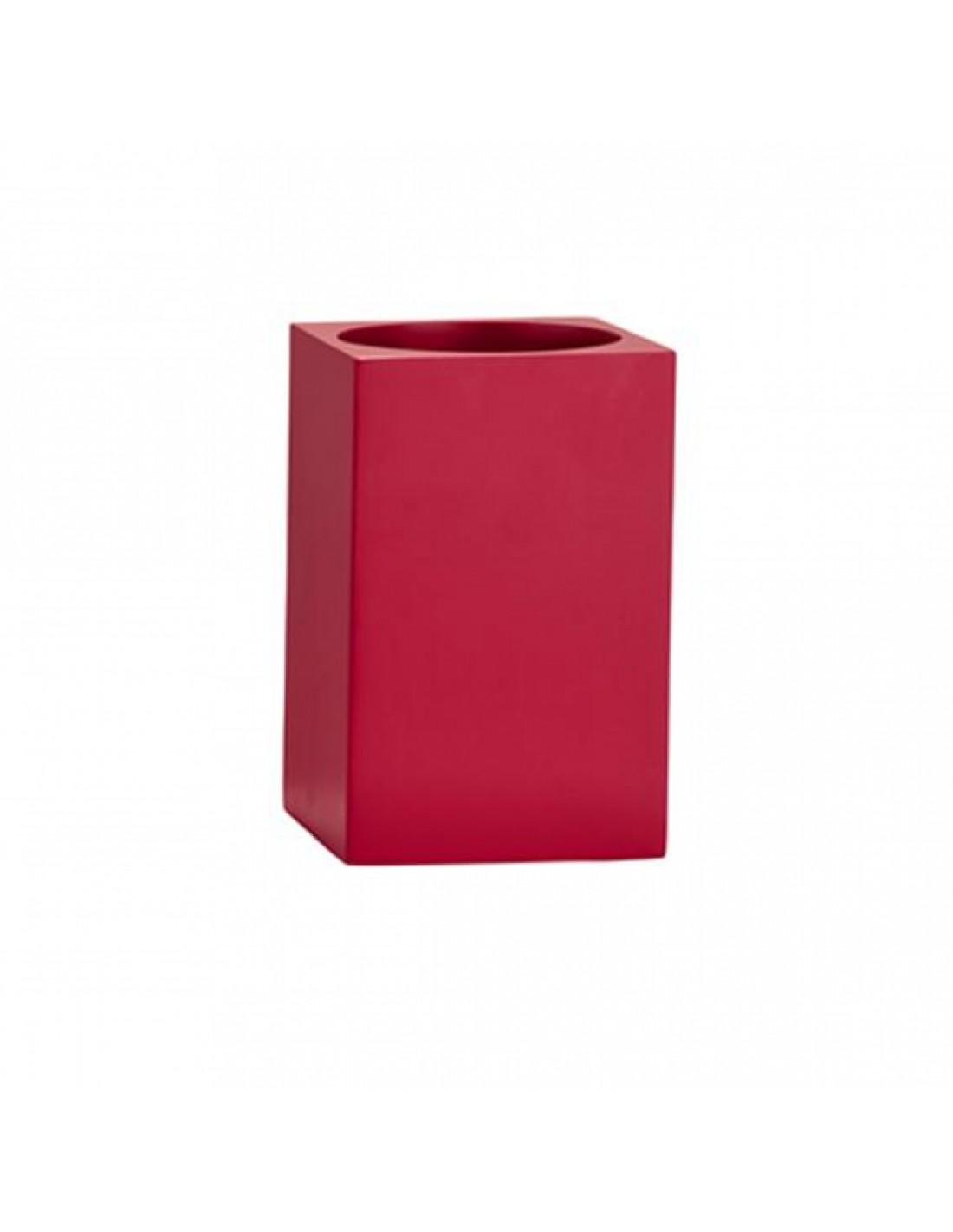 porte brosse dents confetti square bath de la marque zone. Black Bedroom Furniture Sets. Home Design Ideas