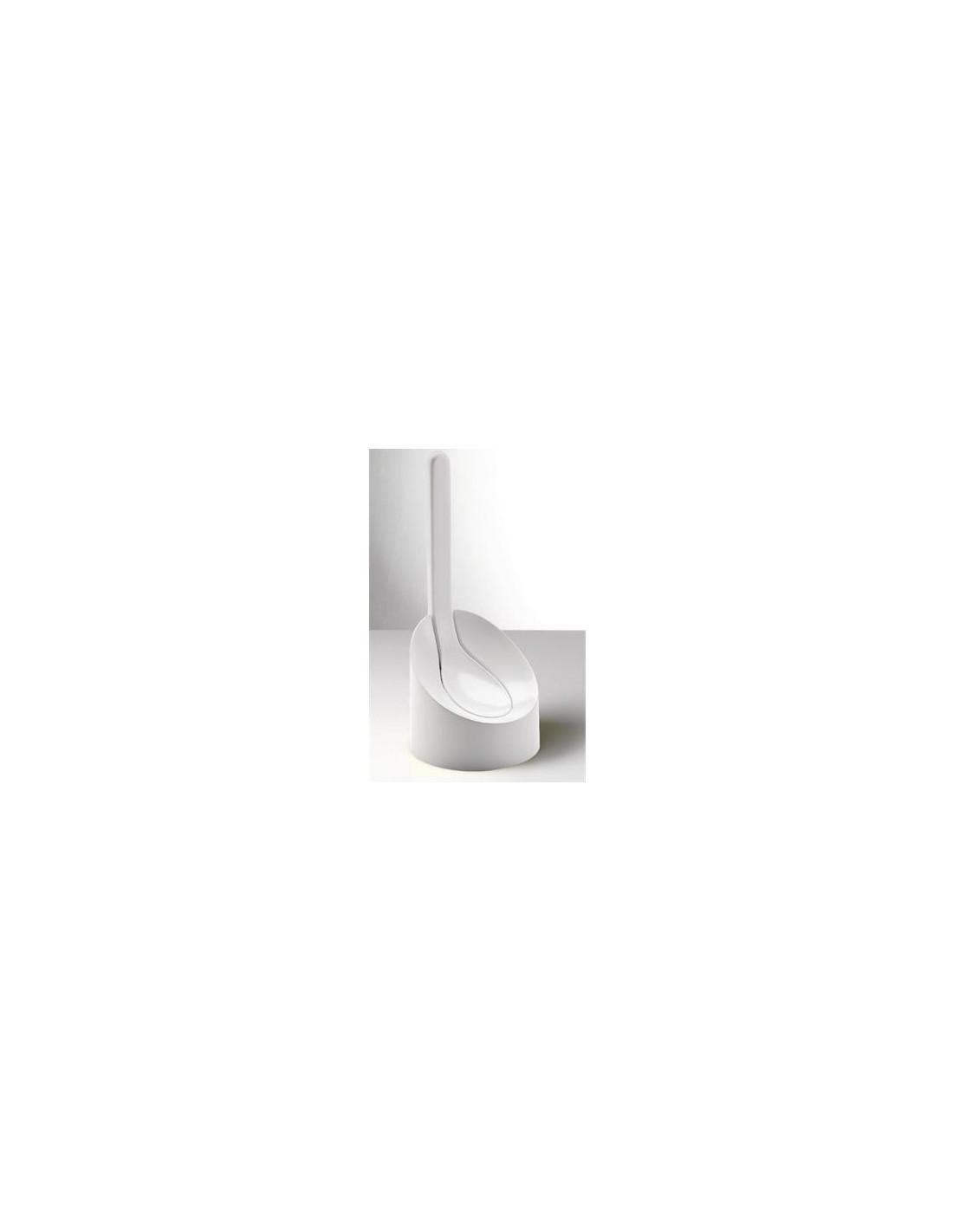 Porte balai Cucciolo Blanc de la marque Gedy