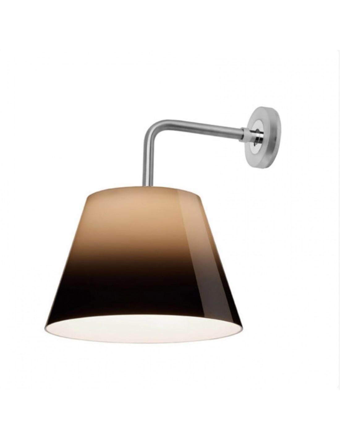 Applique Flos Romeo Outdoor W de couleur Titane du designer Philippe Starck pour la marque Flos - Valente Design