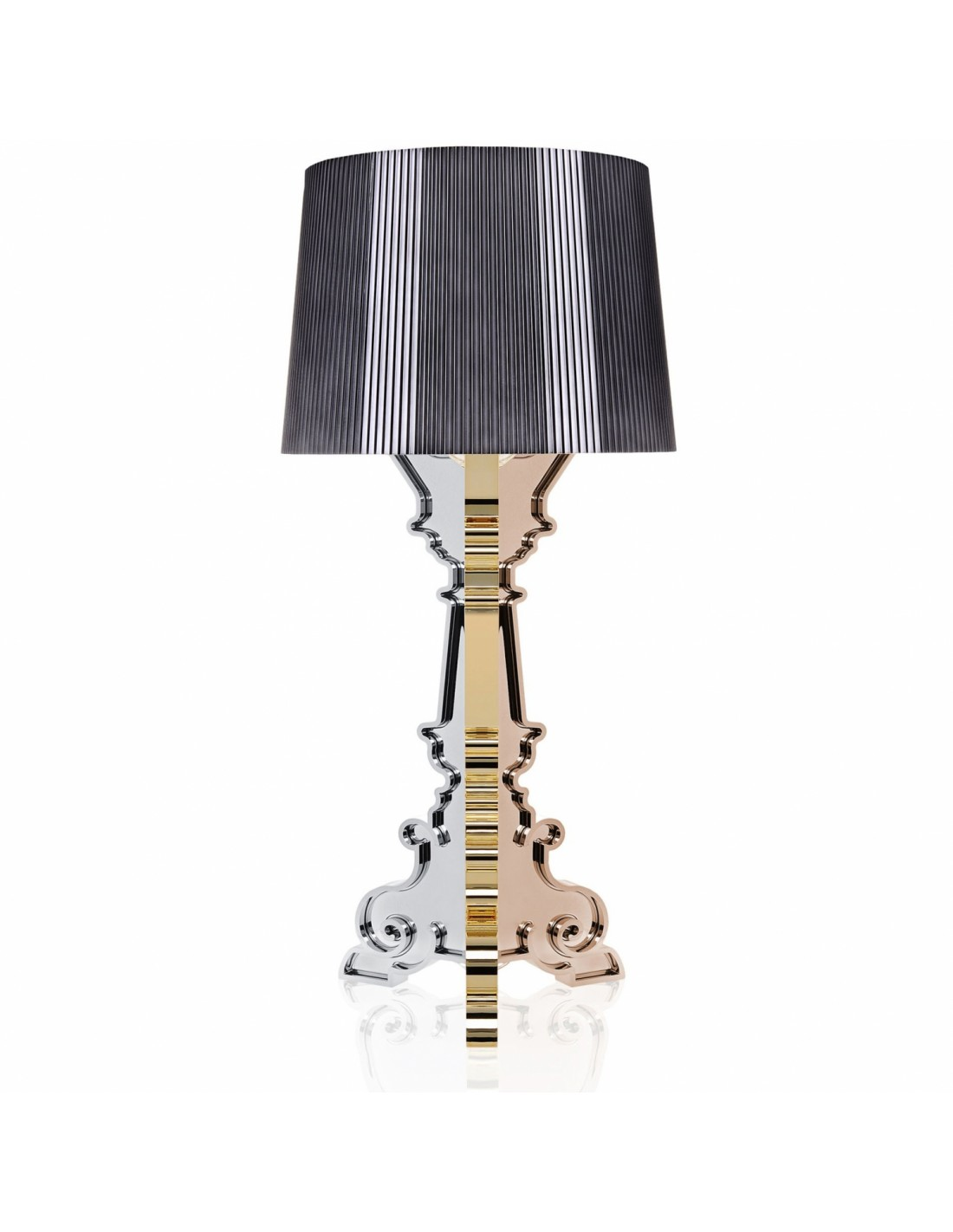 lampe de table bourgie m tallis e. Black Bedroom Furniture Sets. Home Design Ideas