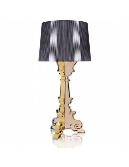 Lampe de table Bourgie Métallisée pour la marque Kartell