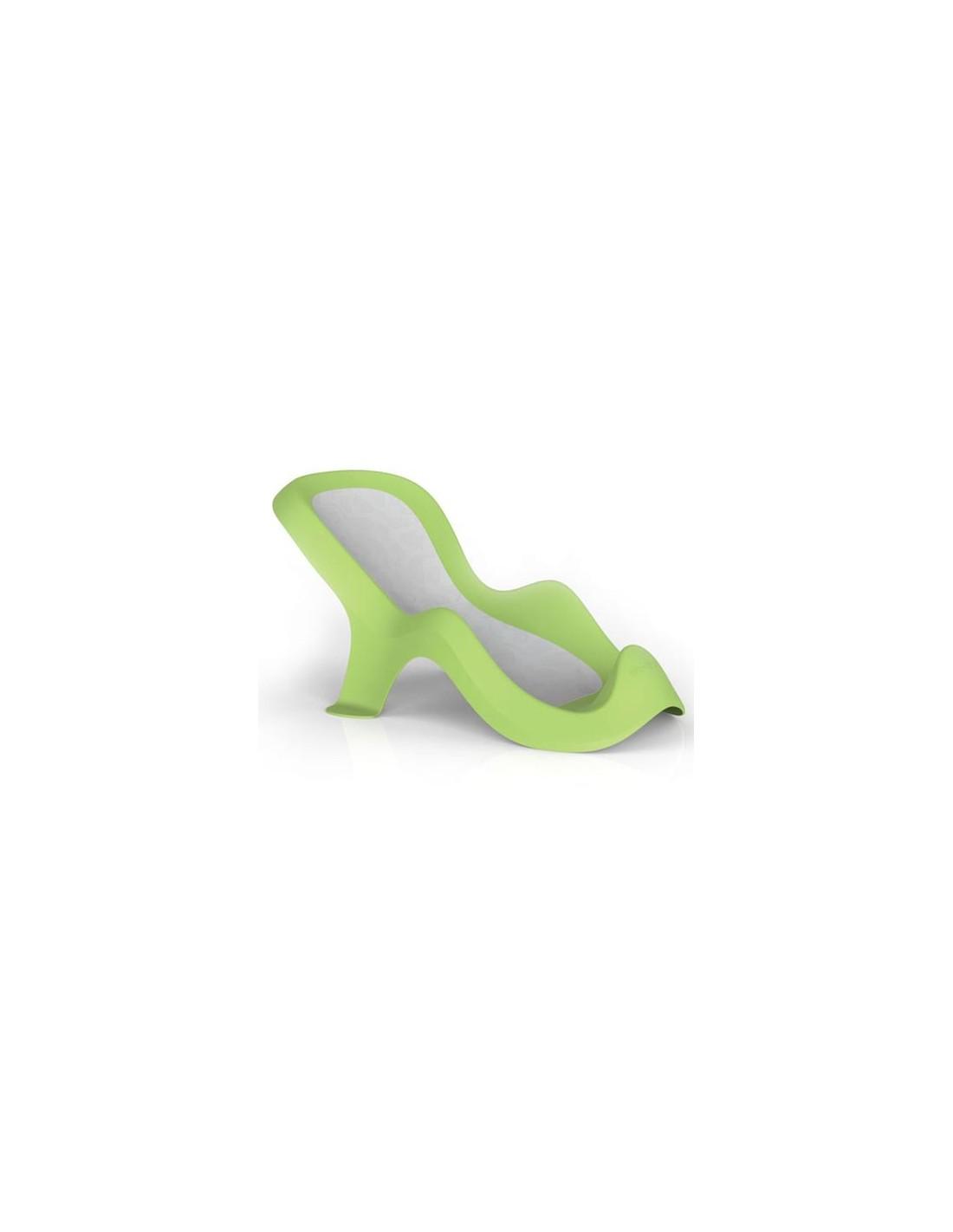Siège de bain blanc/vert Da-Dam de la marque Gedy