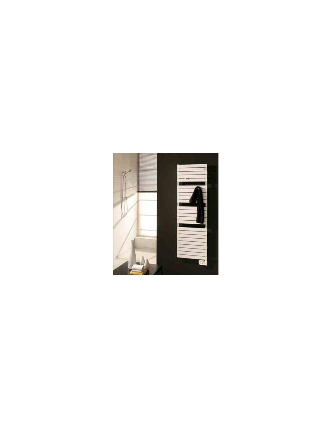 S che serviettes lectrique dory 900w finition blanche - Seche serviette electrique design ...