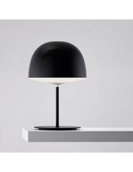 Lampe de table Cheshire noir FontanaArte Valente Design GamFratesi Studio