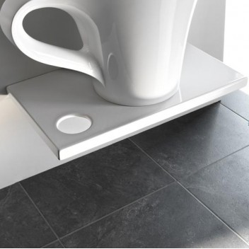 Plan de toilette suspendu Breakfast  pour vasque Cup