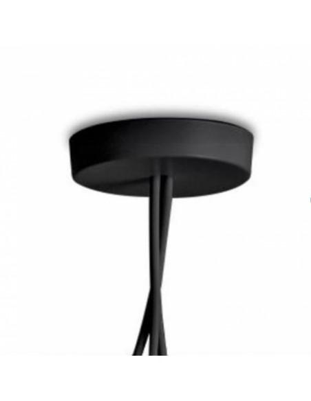 Patère noire suspension Aim flos Valente Design