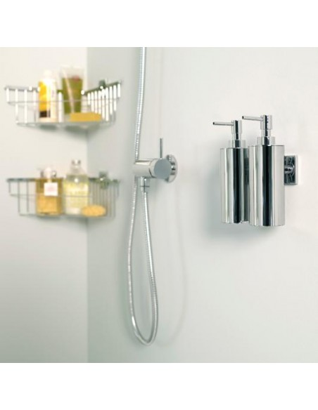 Distributeur de savon liquide à coller Duo Square par Bath+