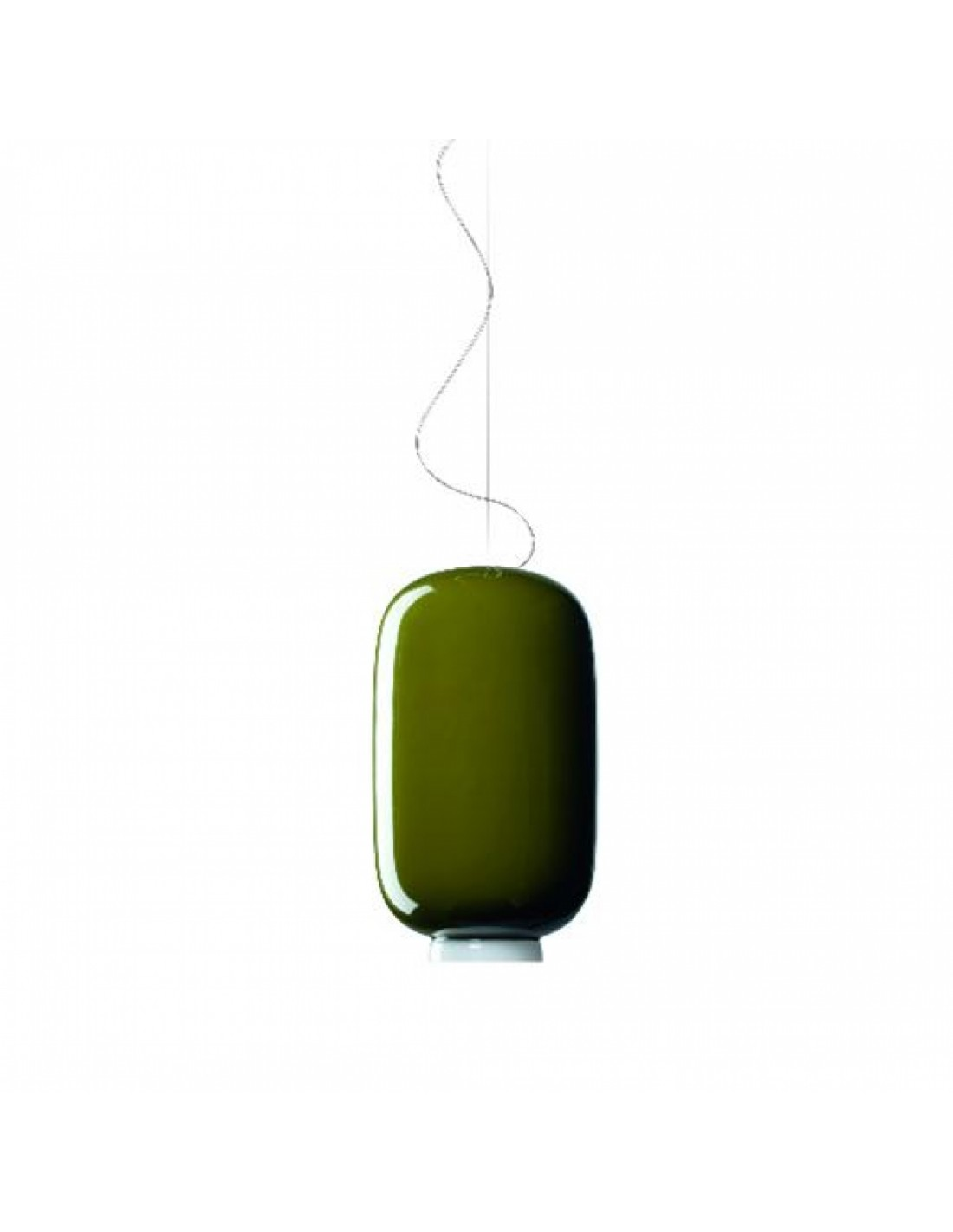 Suspension Chouchin Mini 2 verte foscarini