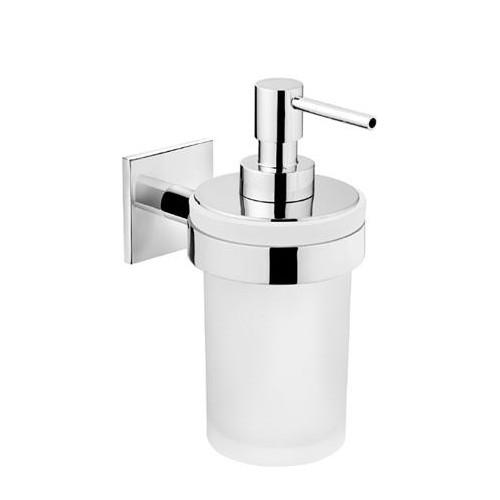 Distributeur de savon liquide verre à coller Duo Square