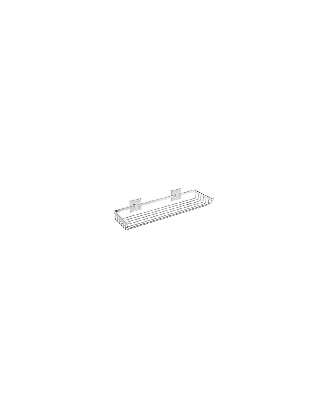Panier de douche 40 cm à coller Duo Square