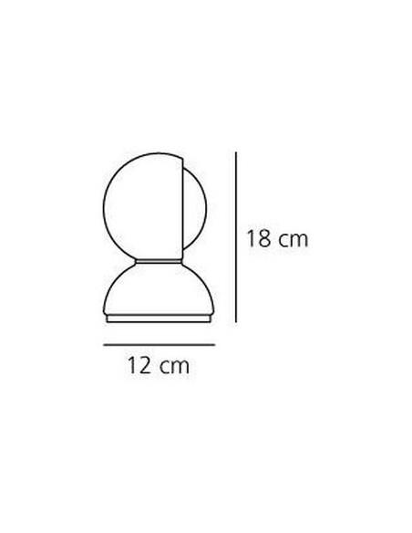 Lampe de table Eclisse plan