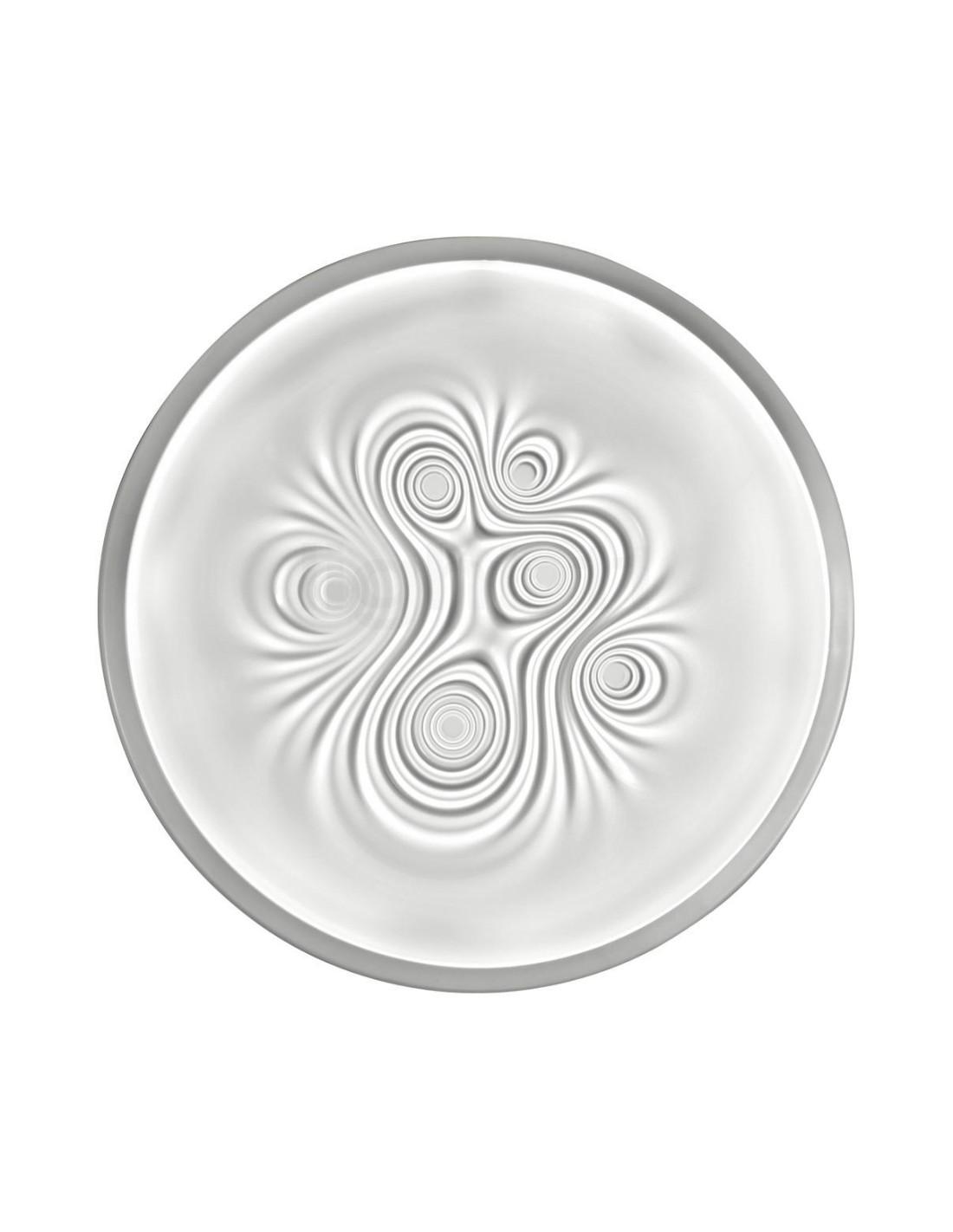 plafonnier led nebula blanc structure en aluminium Artemide
