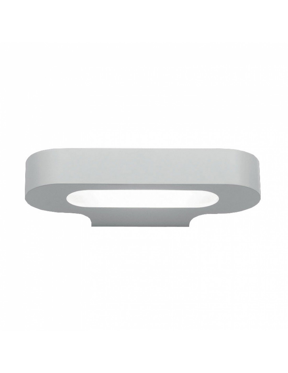 Applique Talo LED blanc vue de face Artemide