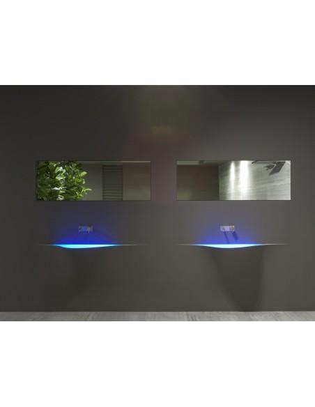 Vasque futuriste silenzio LED par la marque Antonio Lupi - Valente Design