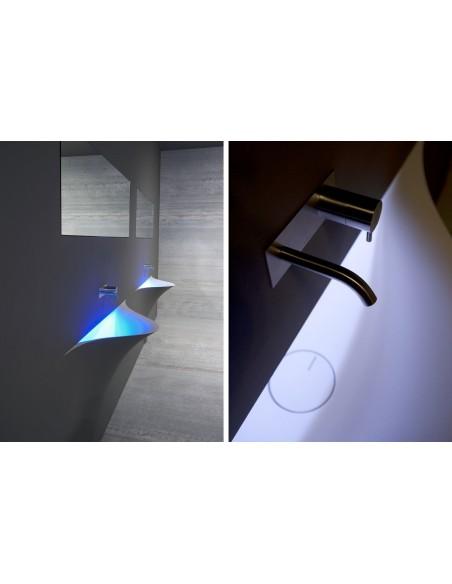 Robinetterie de la vasque silenzio LED de la marque Antonio Lupi - Valente Design