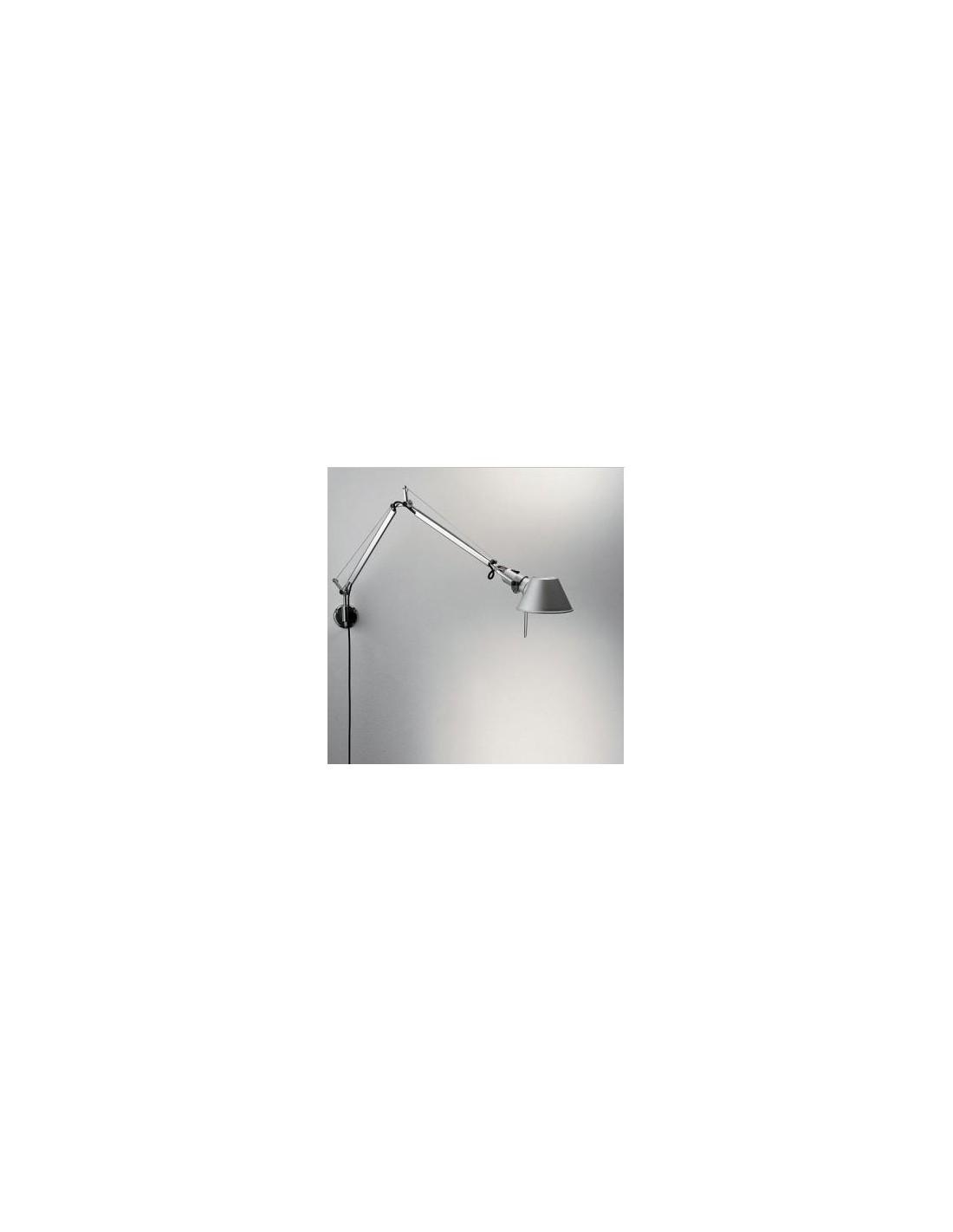 Applique tolomeo micro parete aluminium artemide - Artemide tolomeo micro parete ...
