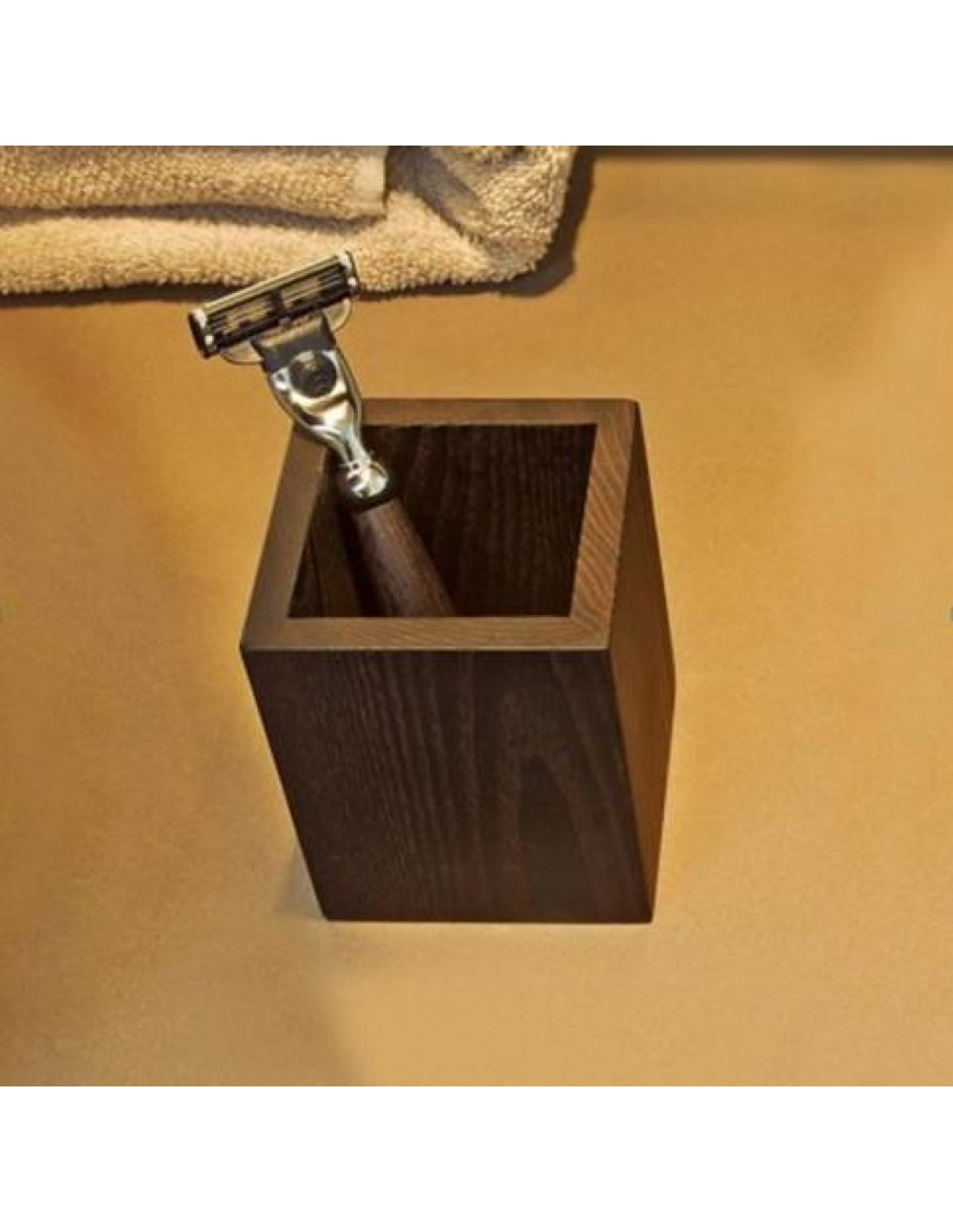 Verre wood bois decor walther en fr ne thermo huil fonc for Decor walther salle de bain