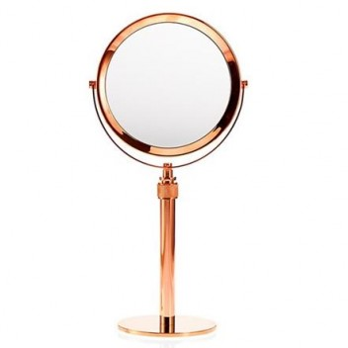Miroir grossissant x 5 cuivré Mikado