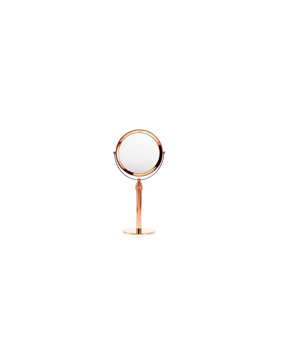 Miroir grossissant x 5 cuivré Mikado de Decor Walther