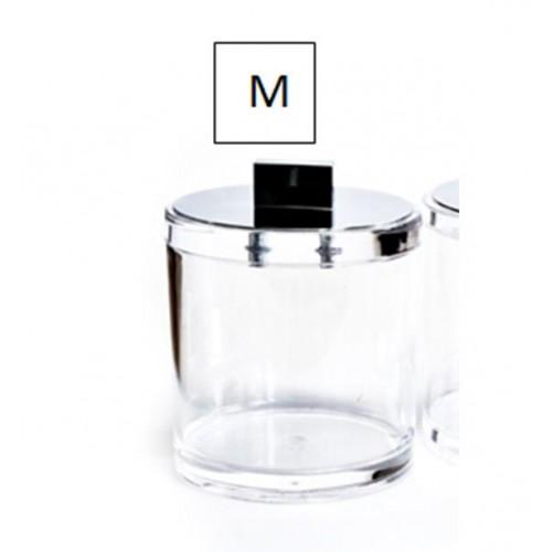 Boîte avec couvercle chromé moyen modèle SKY DMD M