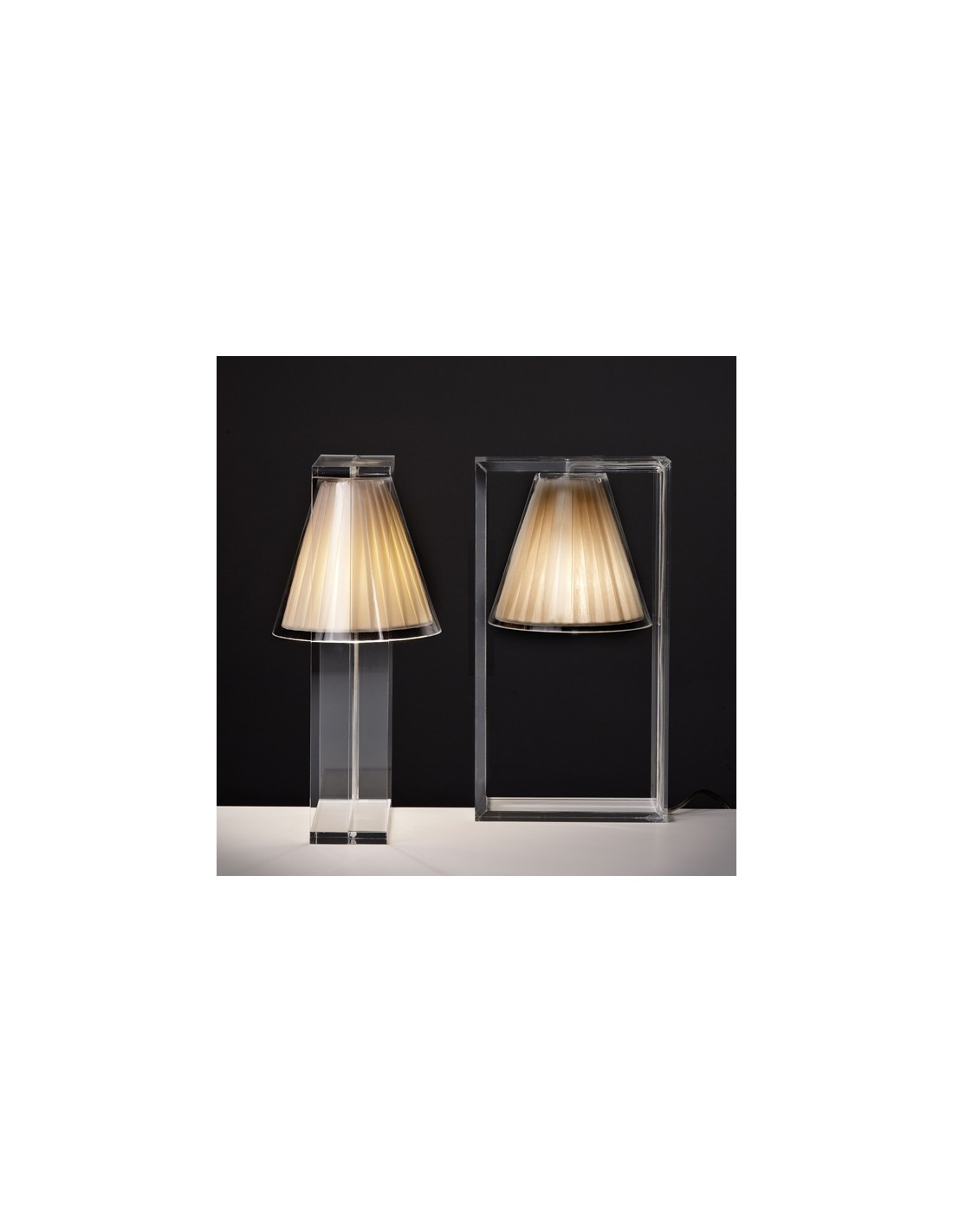 lampe de table light air beige. Black Bedroom Furniture Sets. Home Design Ideas