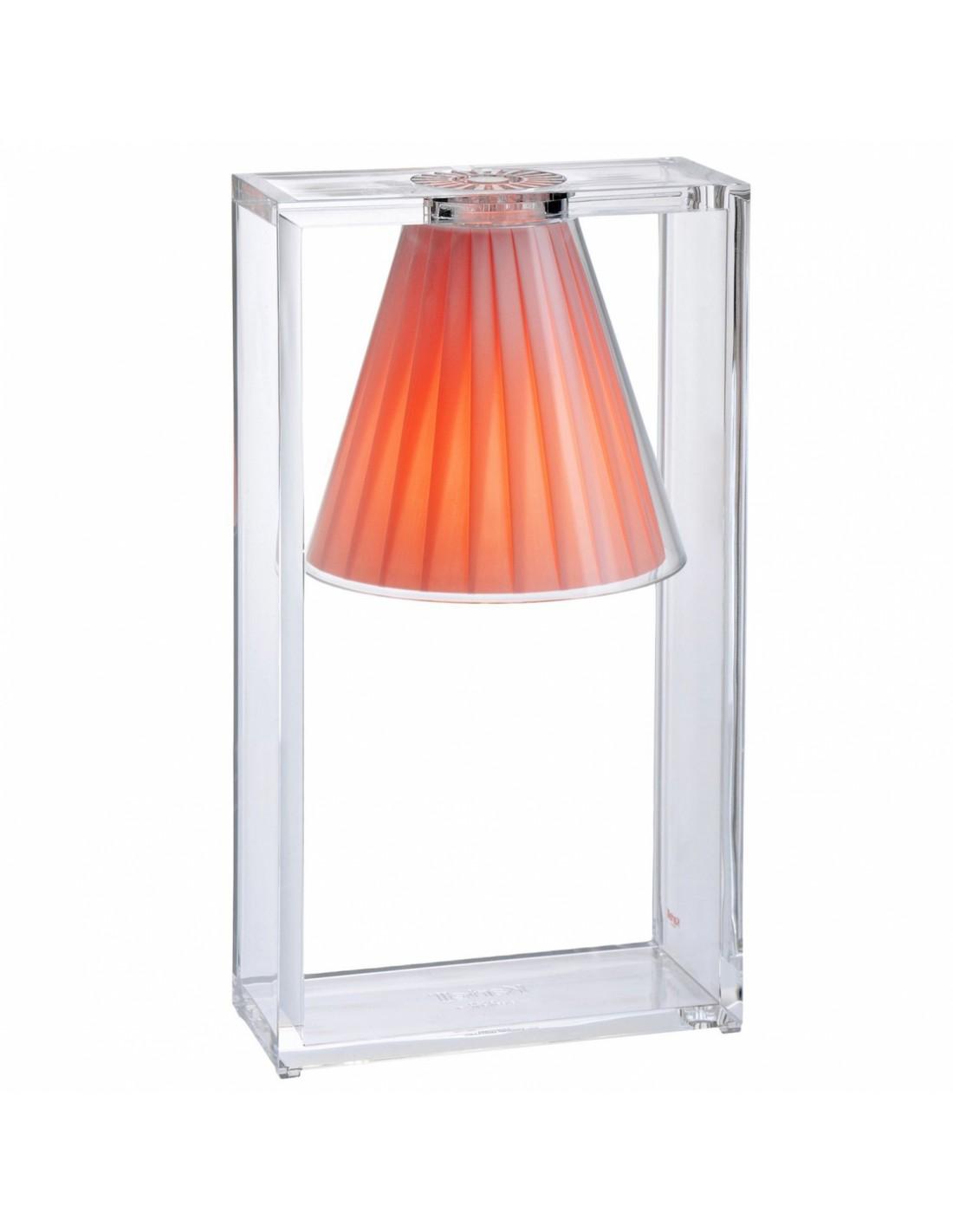lampe de table light air rose. Black Bedroom Furniture Sets. Home Design Ideas