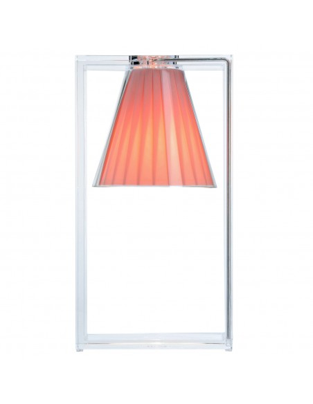 Lampe de table Light Air rose pour la marque Kartell