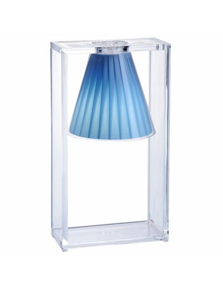 Lampe de table Light Air bleu ciel pour la marque Kartell