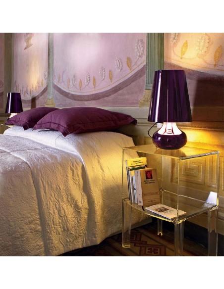 Lampe de table Cindy mise en scène pour la marque Kartell - Valente Design