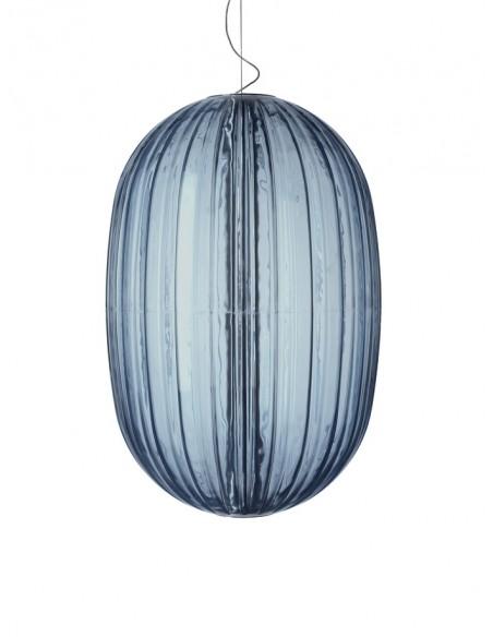 Suspension Plass Led bleue
