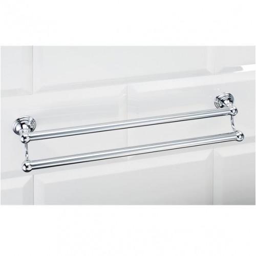 Porte serviettes double 60 cm Classic CL HTD60