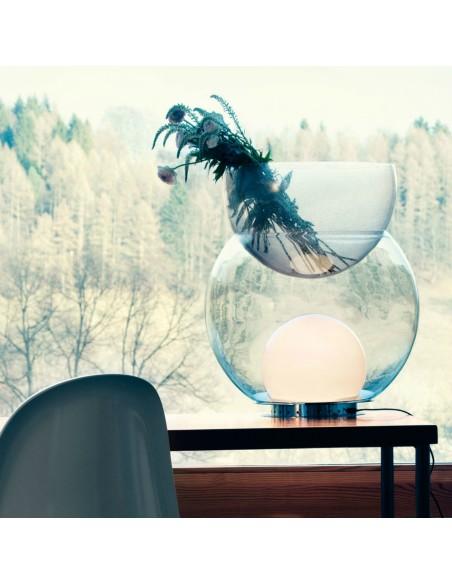 Lampe de table Giova grand modèle FontanaArte ambiance salon