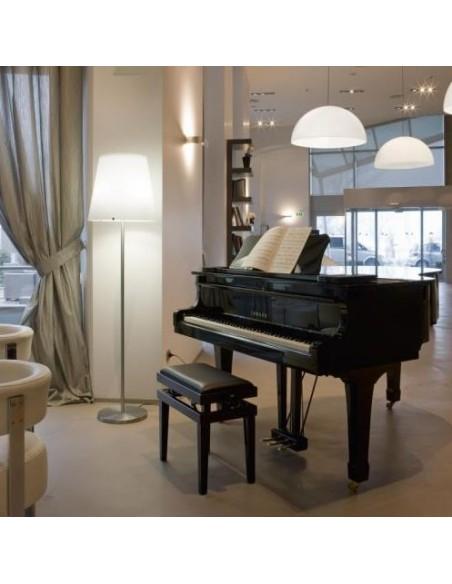 Lampadaire 3247 Grand modèle mise en scène salon Fontana Arte