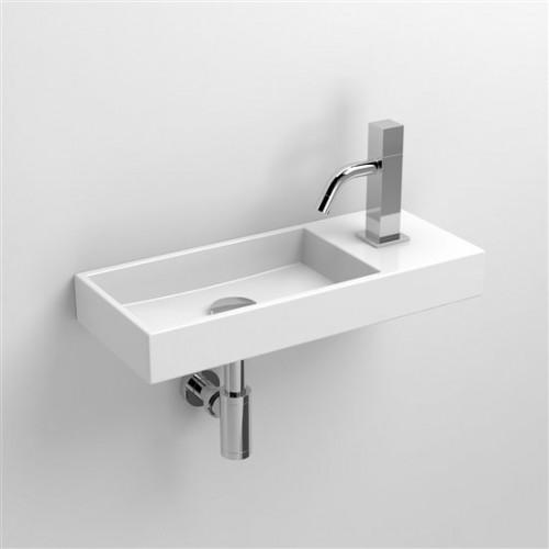 Lave mains 45 cm Mini Wash Me percement à droite