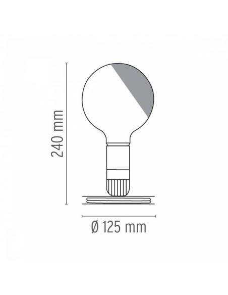 Lampe de table Lampadina plan de flos