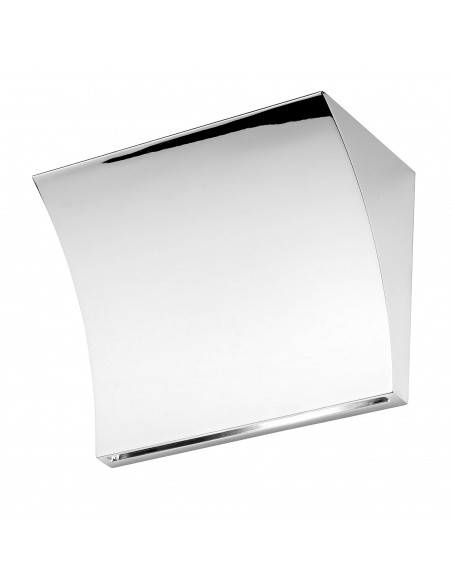 Applique Pochette Up&Down chrome flos Valente Design