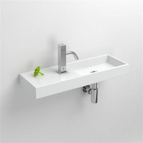 Lave mains 56 cm Mini Wash Me percement à gauche