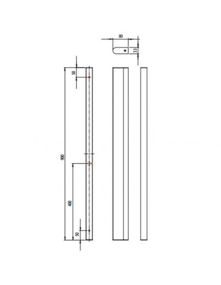 Applique Artemis 900 Led plan astro lighting