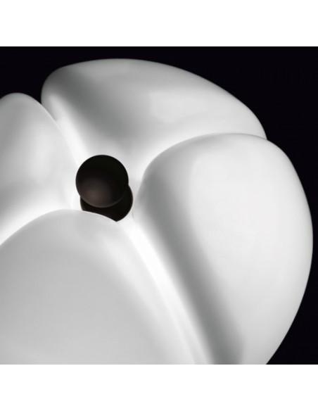 Lampe de table Pipistrello Medium LED - Martinelli Luce Valente Design Gae Aulenti détail abat-jour